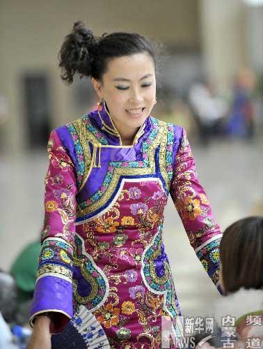 土默特蒙古族服饰