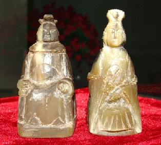 牛角象棋白方王、皇后