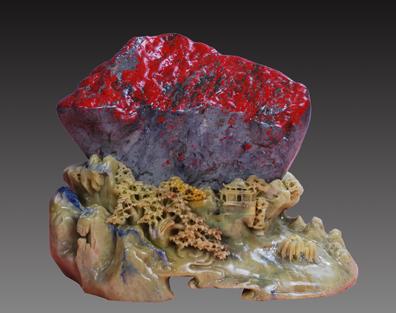 祖国山河一片红