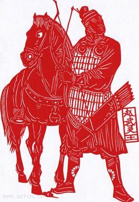 民间剪纸是中国古老的传统民间艺术