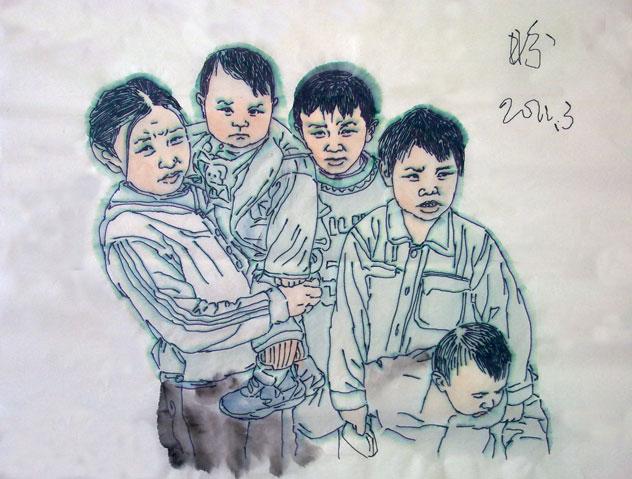 刘志军绘画作品欣赏