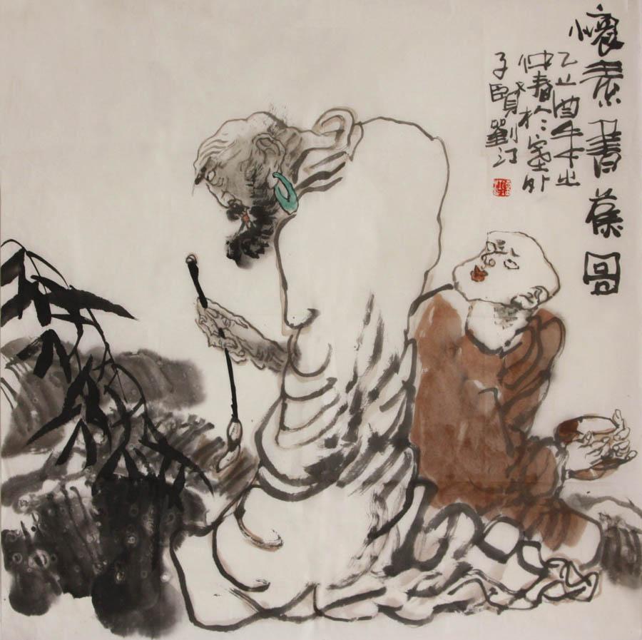 刘江作品欣赏